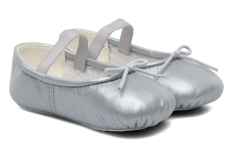 Ballerines Bloch Baby Arabella Argent vue détail/paire