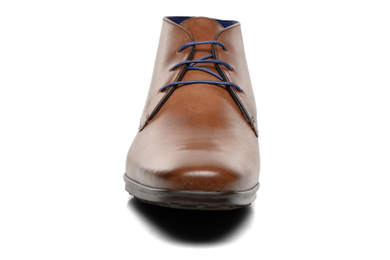 Schnürschuhe Azzaro Brisse braun schuhe getragen