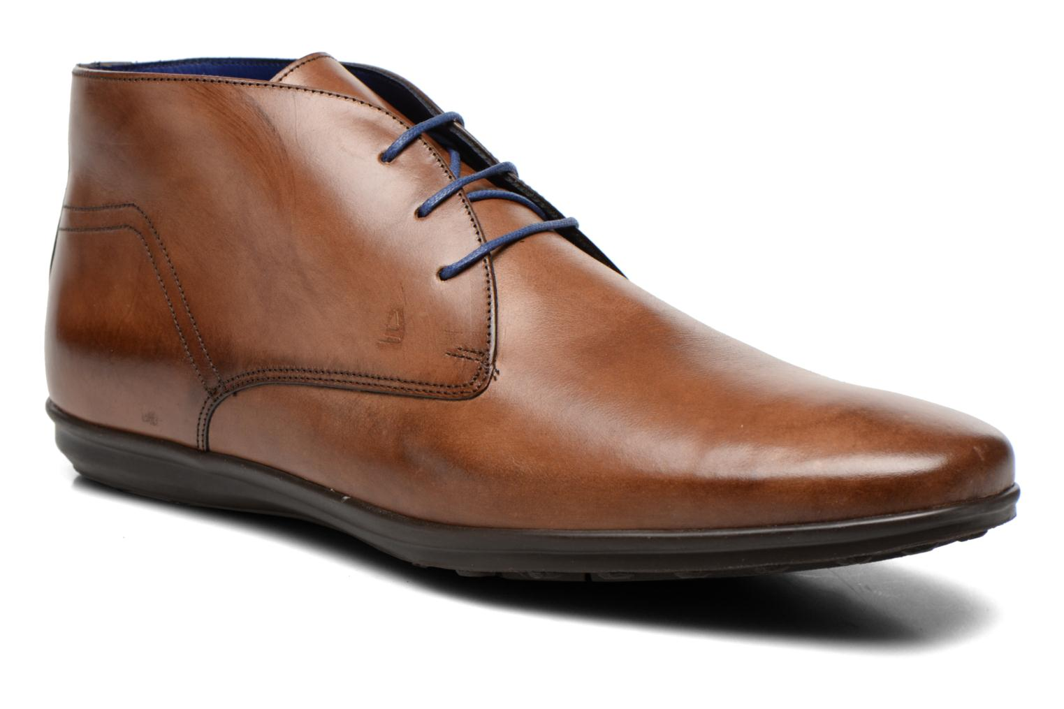 Lace-up shoes Azzaro Brisse Brown detailed view/ Pair view