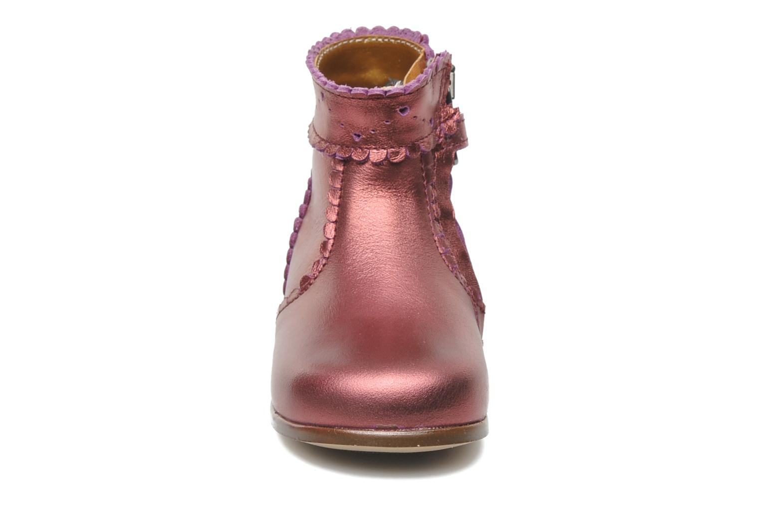 Boots en enkellaarsjes Little Mary Odeline Bordeaux model