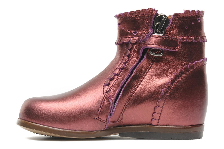 Bottines et boots Little Mary Odeline Bordeaux vue face