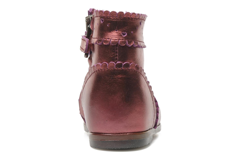 Boots en enkellaarsjes Little Mary Odeline Bordeaux rechts