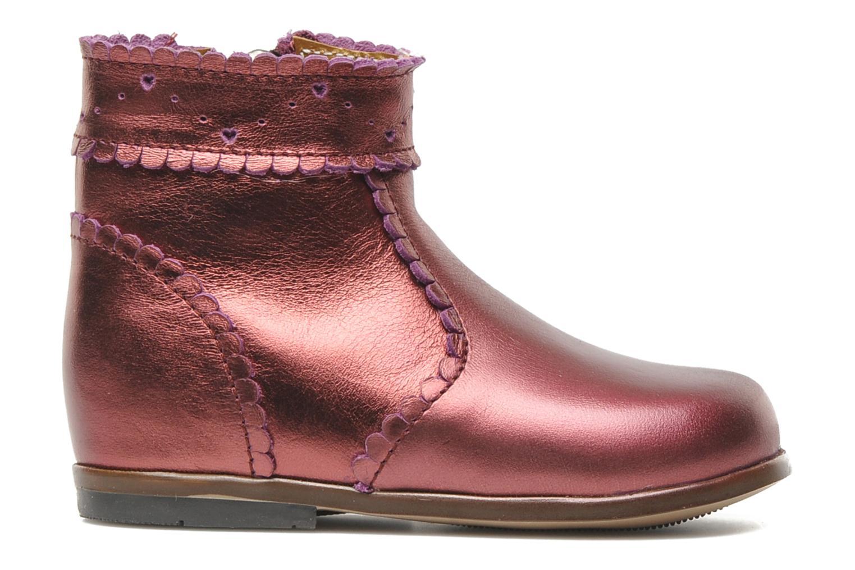 Stiefeletten & Boots Little Mary Odeline weinrot ansicht von hinten