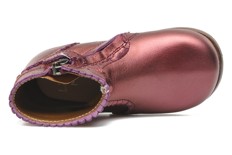 Stiefeletten & Boots Little Mary Odeline weinrot ansicht von links