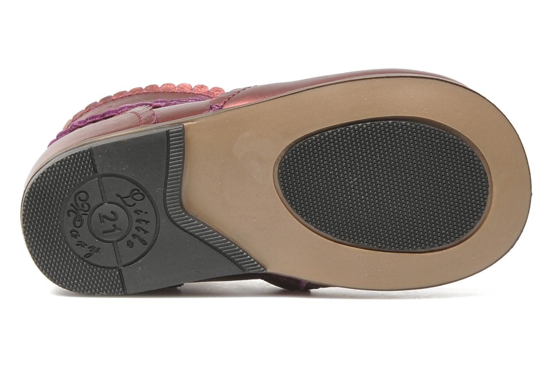 Bottines et boots Little Mary Odeline Bordeaux vue haut
