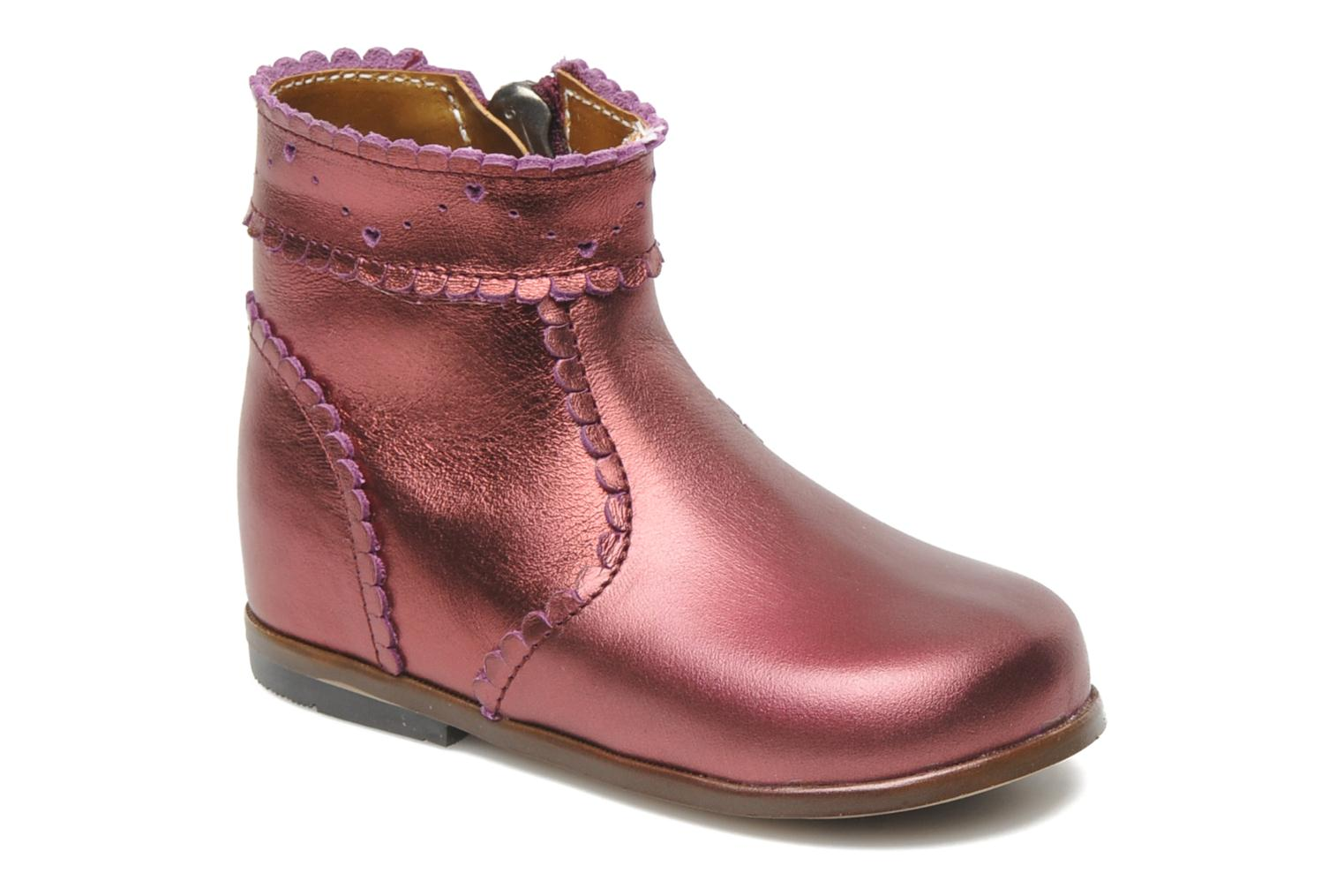 Bottines et boots Little Mary Odeline Bordeaux vue détail/paire