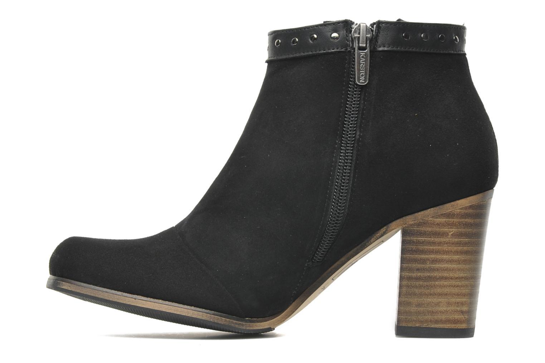 Boots en enkellaarsjes K by Karston Puizo Zwart voorkant