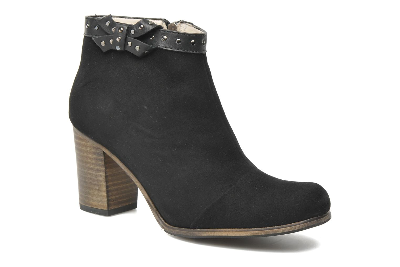 Boots en enkellaarsjes K by Karston Puizo Zwart detail