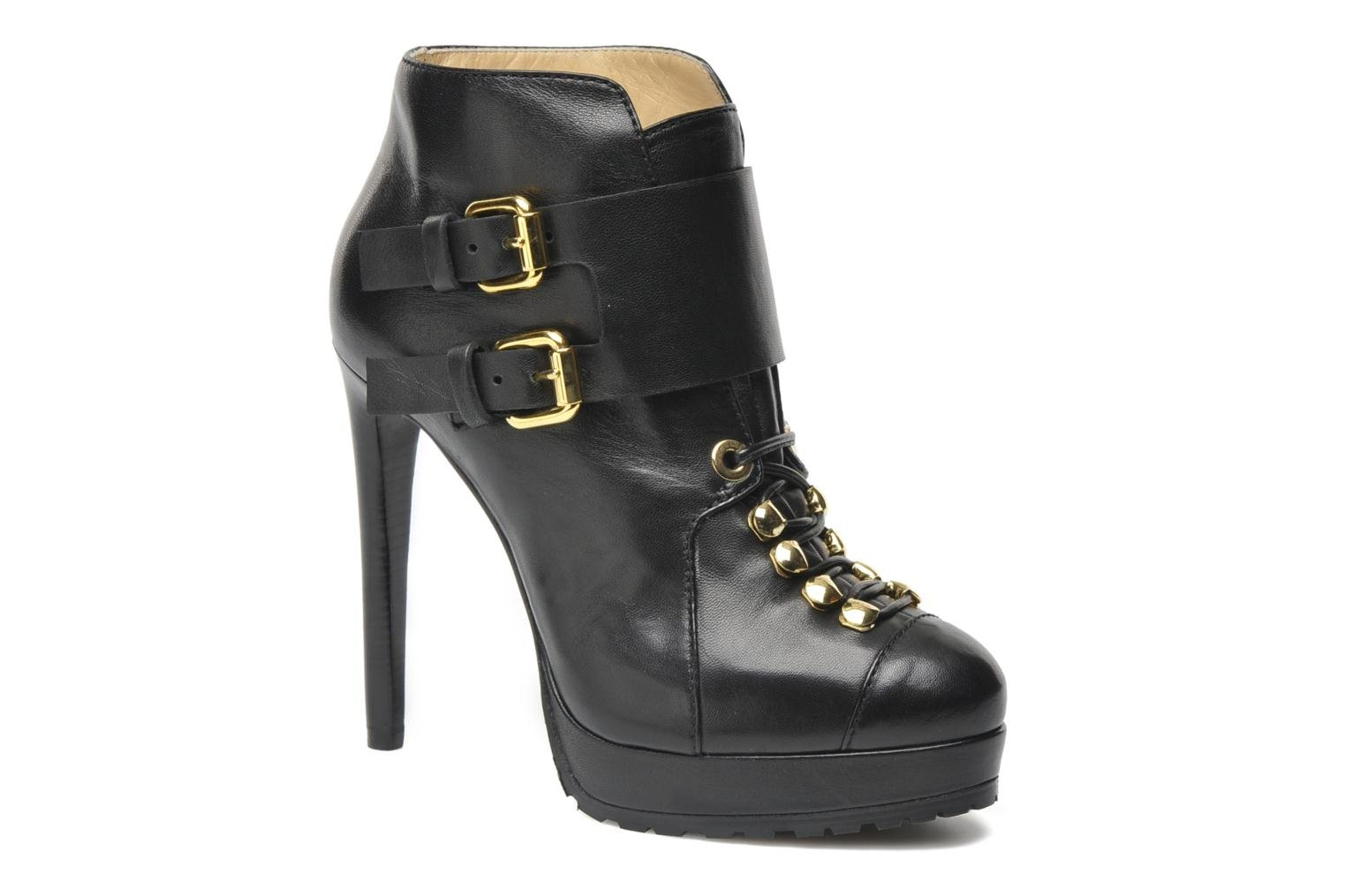 Ankle boots Vicini Volia Black detailed view/ Pair view