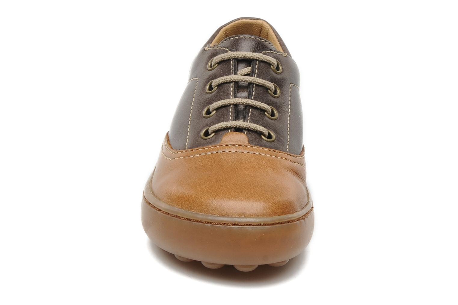 Lace-up shoes Pom d Api Walk CVO Brown model view