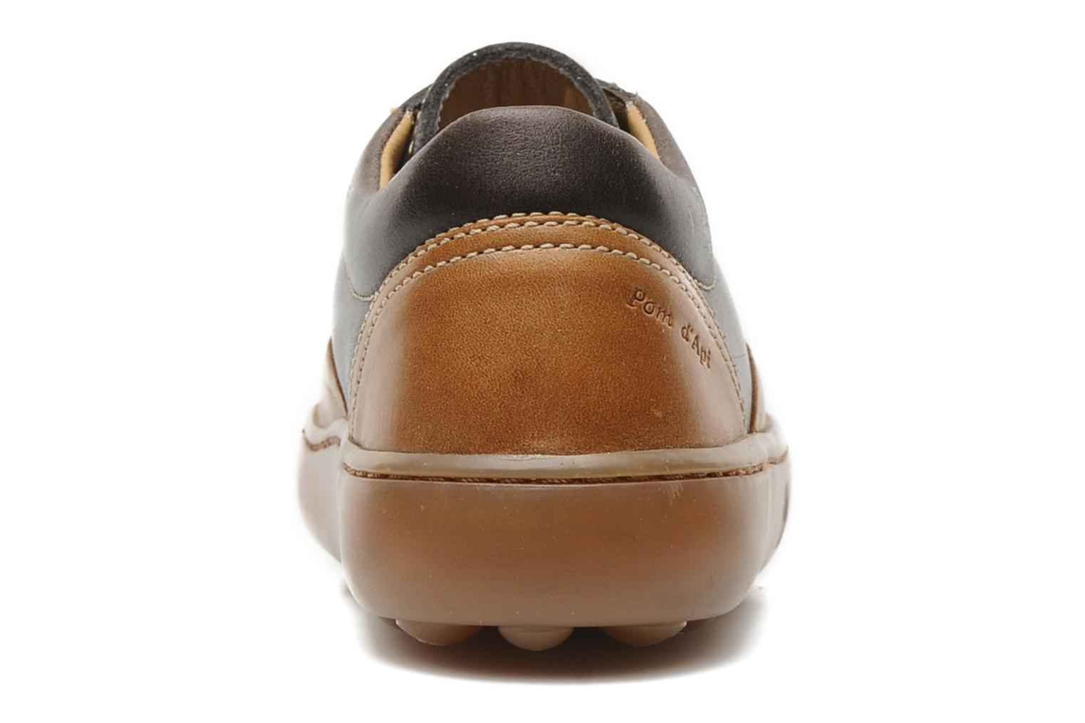 Lace-up shoes Pom d Api Walk CVO Brown view from the right