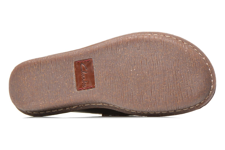 Snörade skor Clarks Funny Dream Brun bild från ovan