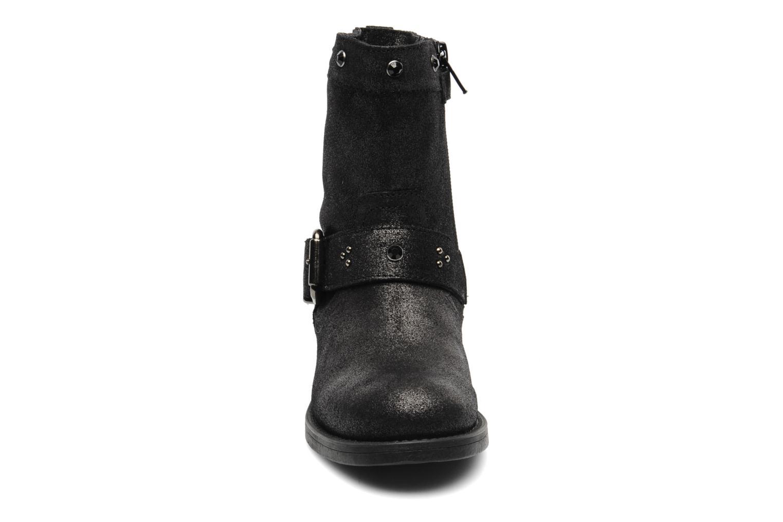 Bottes Unisa Gapu Gris vue portées chaussures