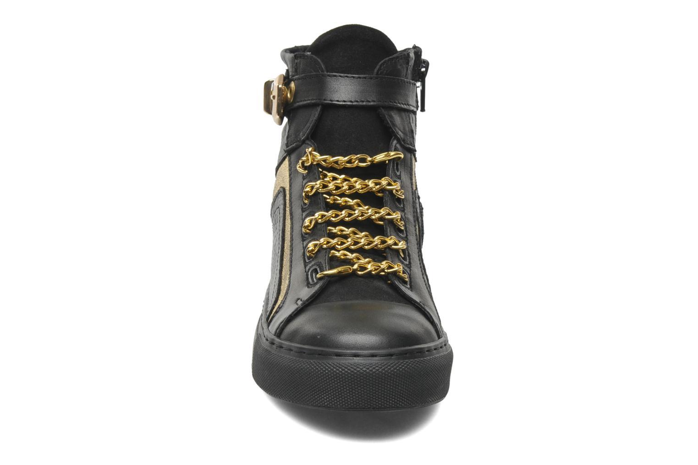 Baskets Bronx Kyte Noir vue portées chaussures