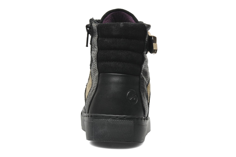 Baskets Bronx Kyte Noir vue droite