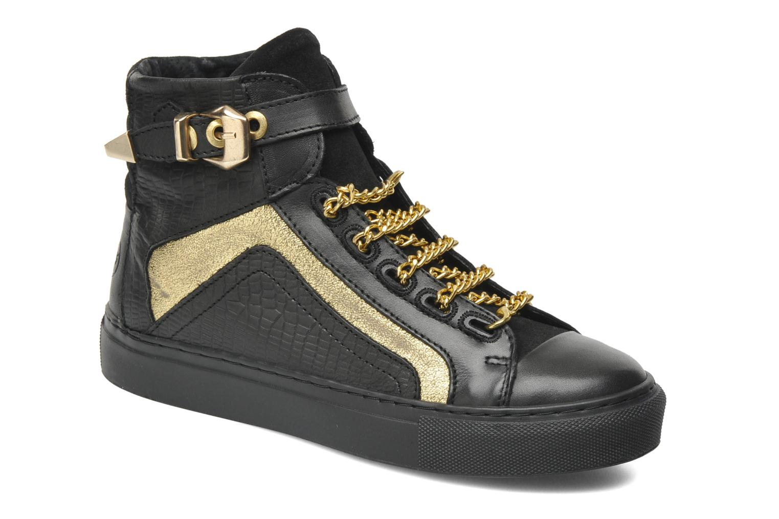Trainers Bronx Kyte Black detailed view/ Pair view