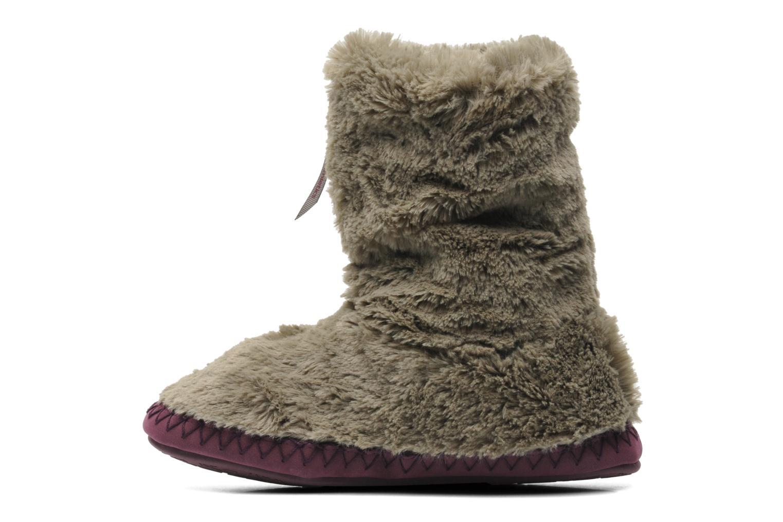 Pantofole BEDROOM ATHLETICS Monroe Grigio immagine frontale