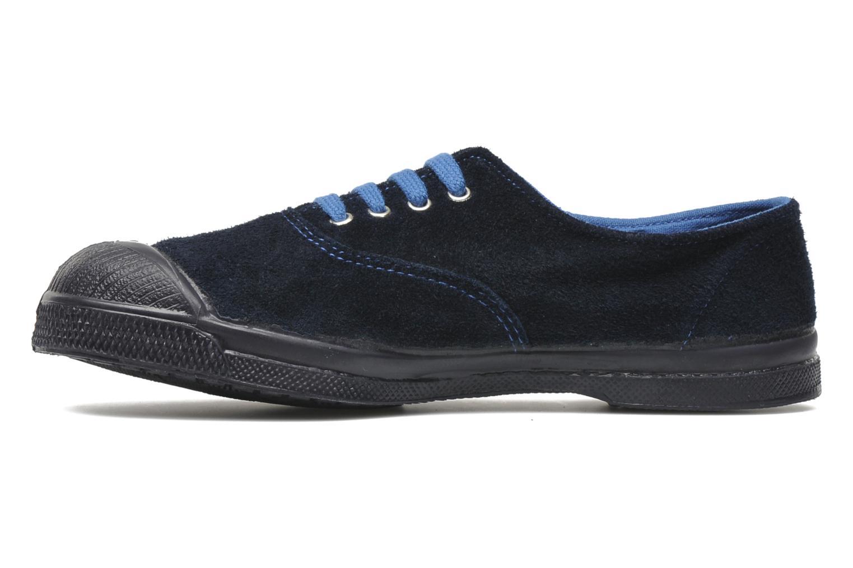 Sneaker Bensimon Tennis Suedes Unies E blau ansicht von vorne