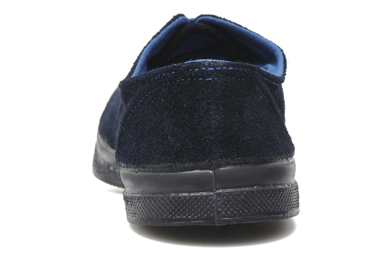 Sneakers Bensimon Tennis Suedes Unies E Blå Bild från höger sidan