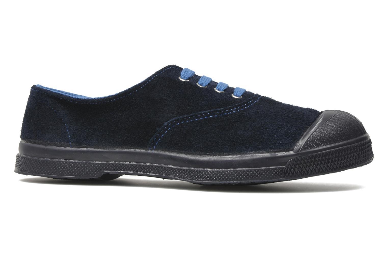Sneakers Bensimon Tennis Suedes Unies E Blauw achterkant