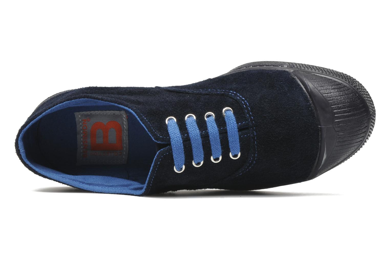 Sneaker Bensimon Tennis Suedes Unies E blau ansicht von links