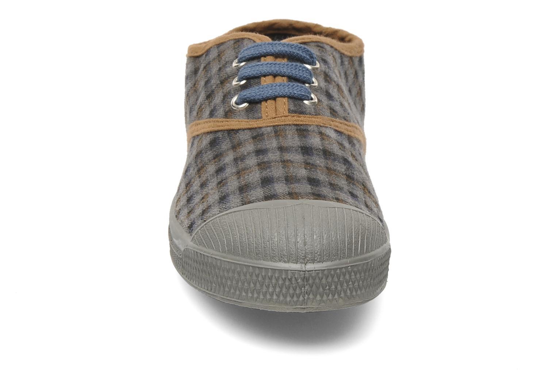 Sneaker Bensimon Tennis Carreaux grau schuhe getragen