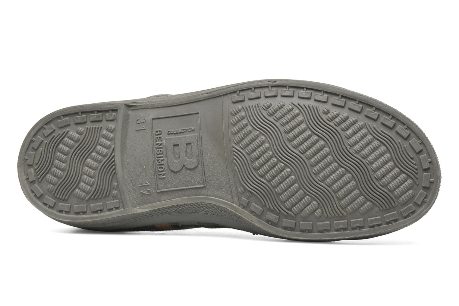 Trainers Bensimon Tennis Carreaux Grey view from above