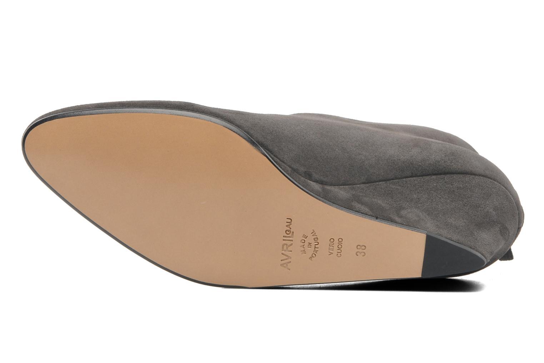 Stiefeletten & Boots Avril Gau Loty grau ansicht von oben