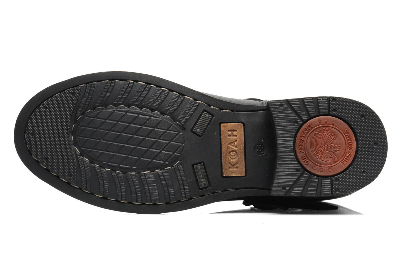 Bottines et boots Koah Nirsa Noir vue haut