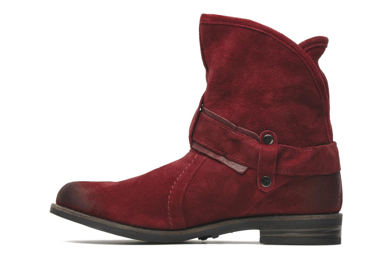 Boots en enkellaarsjes Buffalo Binchi Bordeaux voorkant