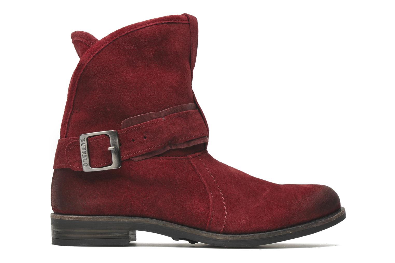 Boots en enkellaarsjes Buffalo Binchi Bordeaux achterkant