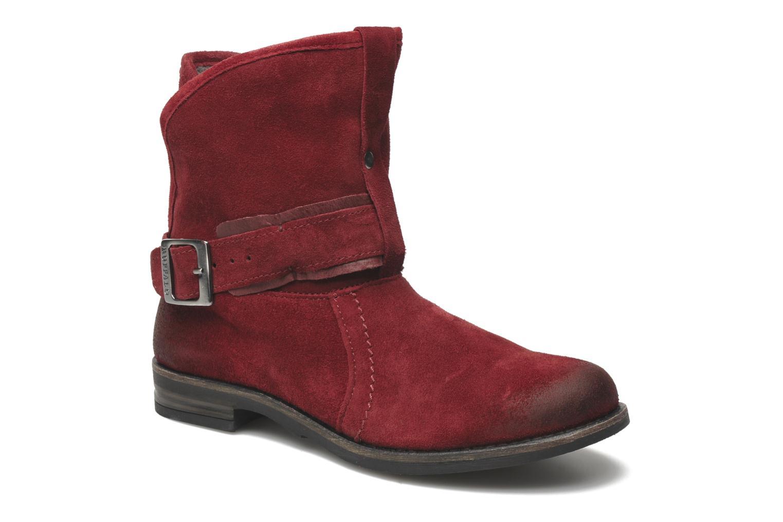 Boots en enkellaarsjes Buffalo Binchi Bordeaux detail