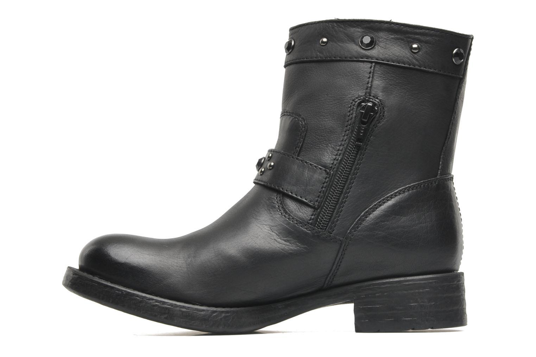 Boots en enkellaarsjes Unisa Ican Zwart voorkant