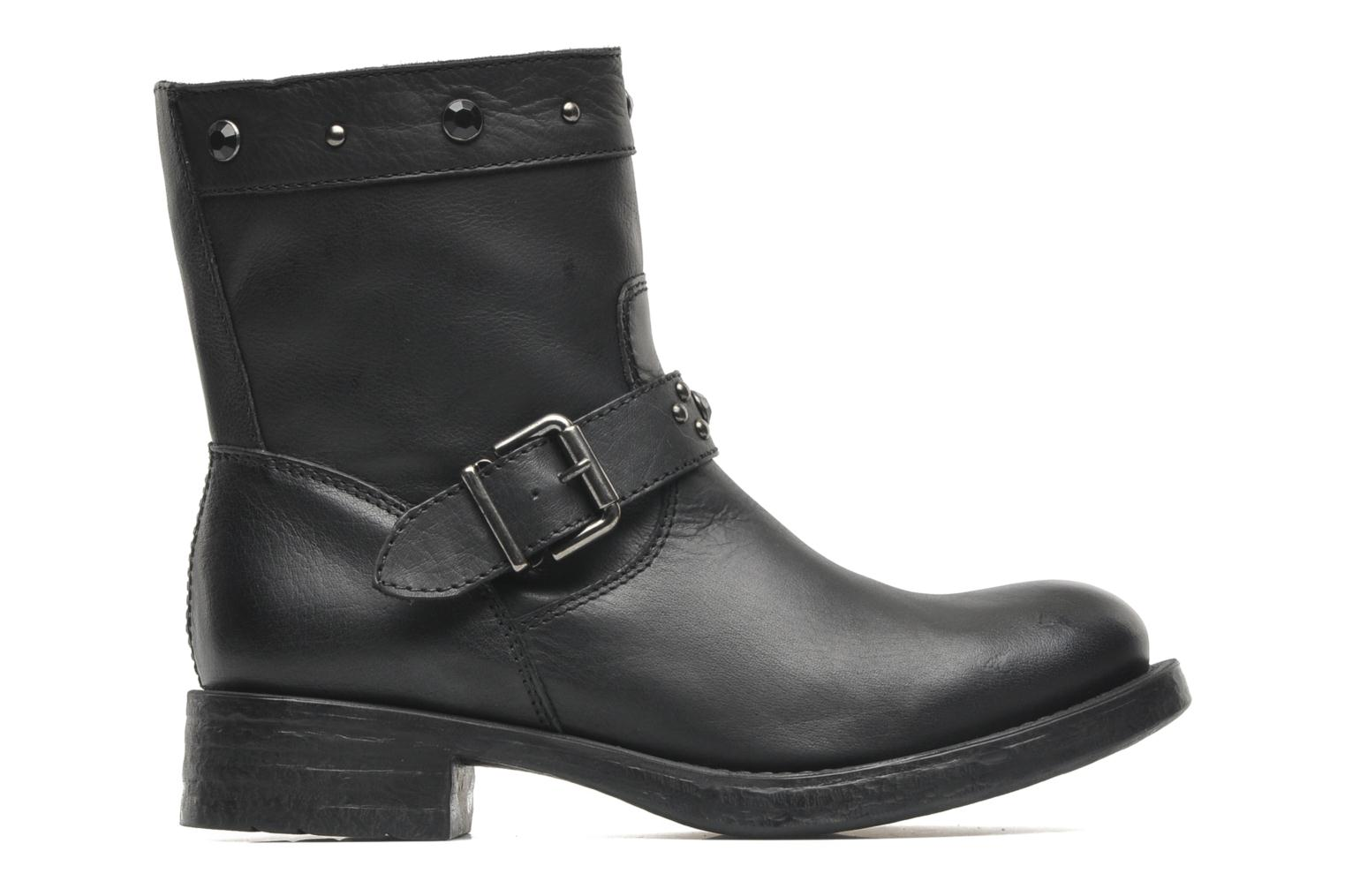 Ankle boots Unisa Ican Black back view