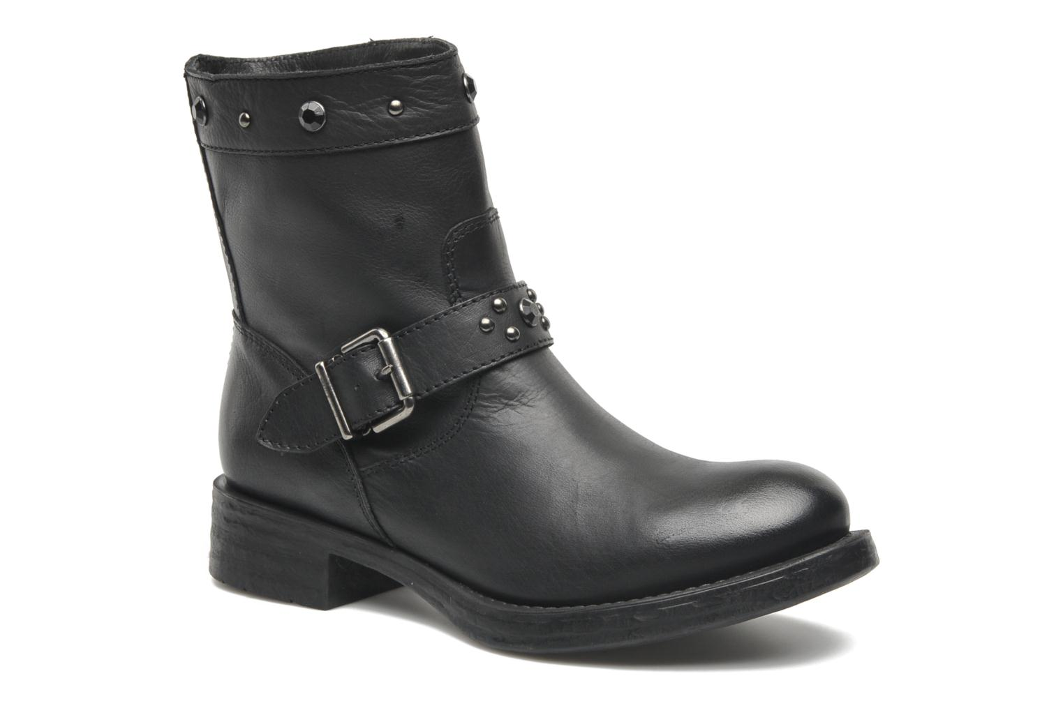 Ankle boots Unisa Ican Black detailed view/ Pair view