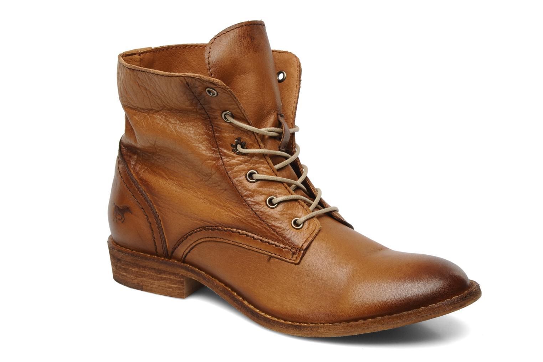 Bottines et boots Mustang shoes Multa Marron vue 3/4