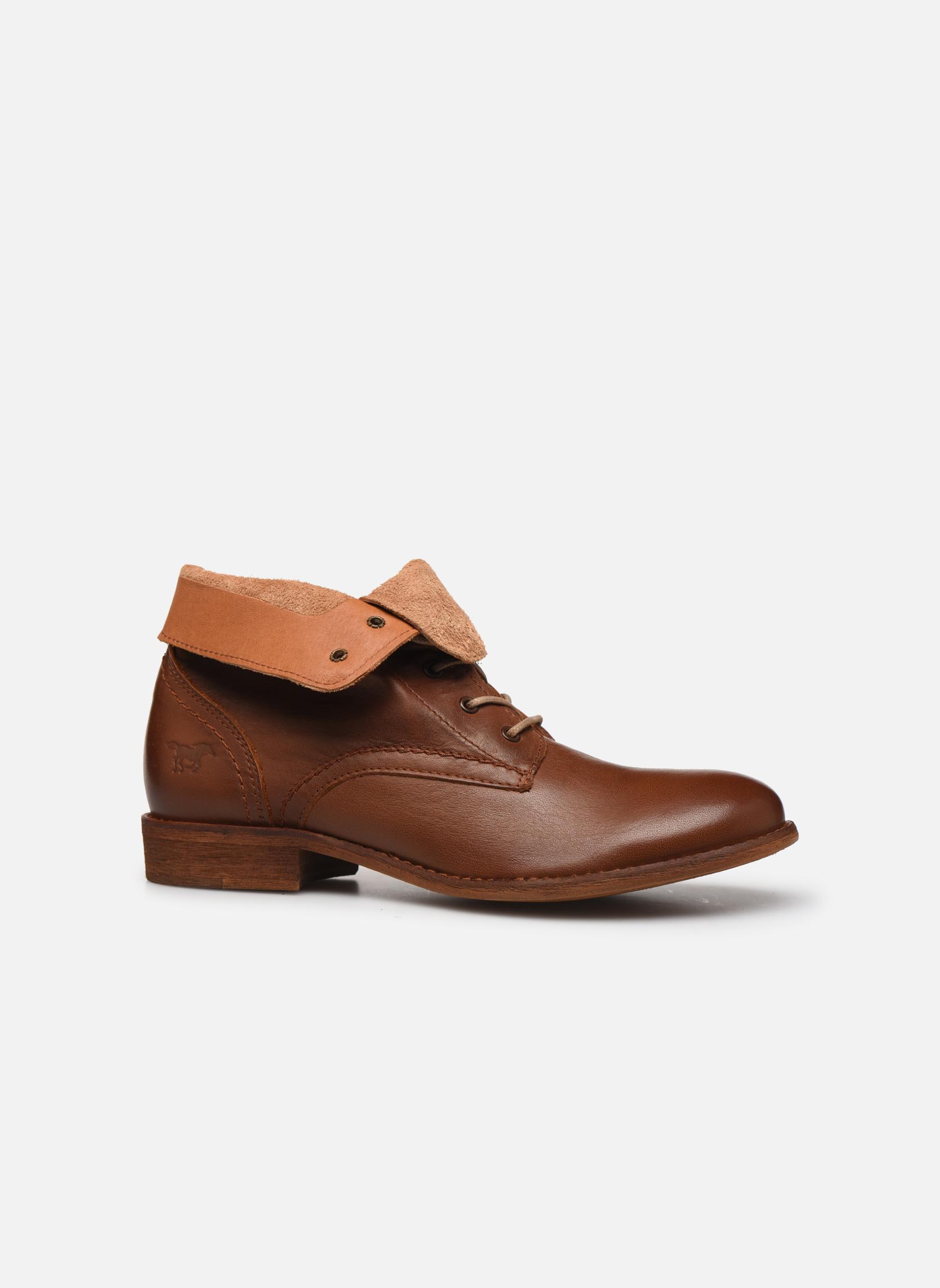 Bottines et boots Mustang shoes Multa Marron vue derrière