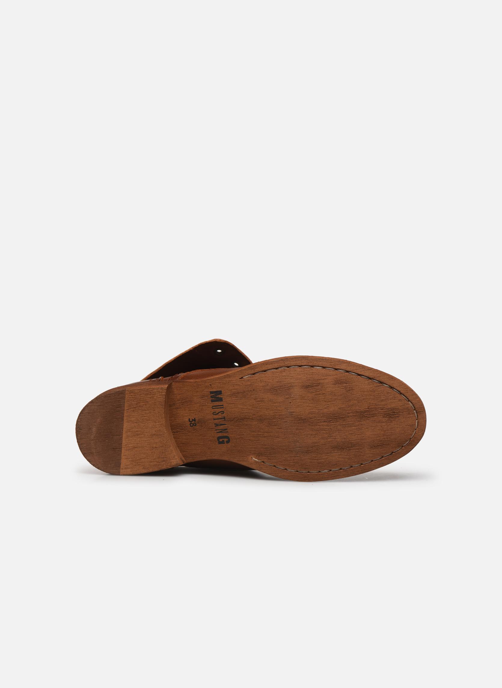 Stivaletti e tronchetti Mustang shoes Multa Marrone immagine dall'alto