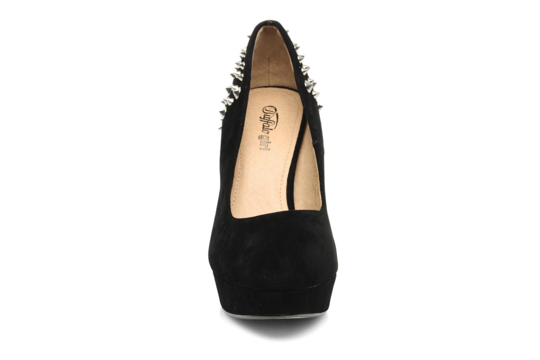 Escarpins Buffalo Balme Noir vue portées chaussures