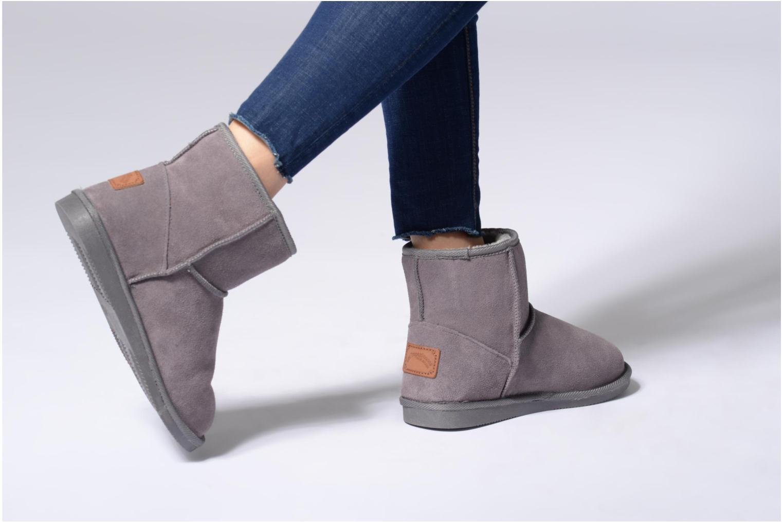 Los últimos zapatos de hombre y mujer Les Tropéziennes par M Belarbi Flocon (Gris) - Botines  en Más cómodo
