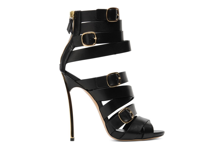 Sandales et nu-pieds Casadei Antico Noir vue derrière