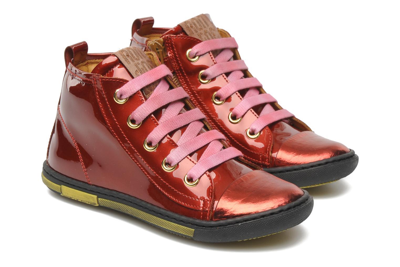 Sneakers Rondinella Nella 9671-4B Rood 3/4'
