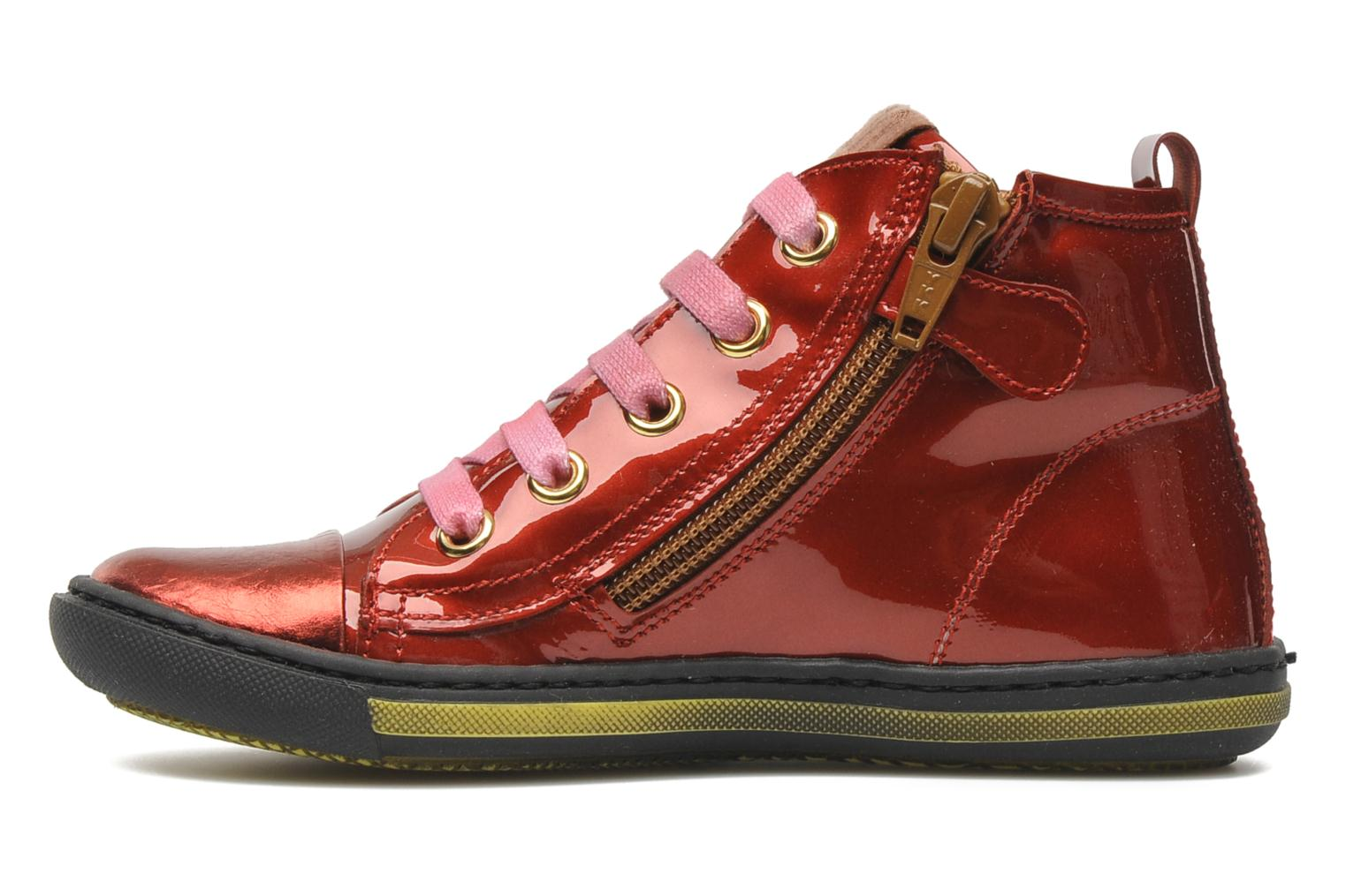 Sneakers Rondinella Nella 9671-4B Rood voorkant