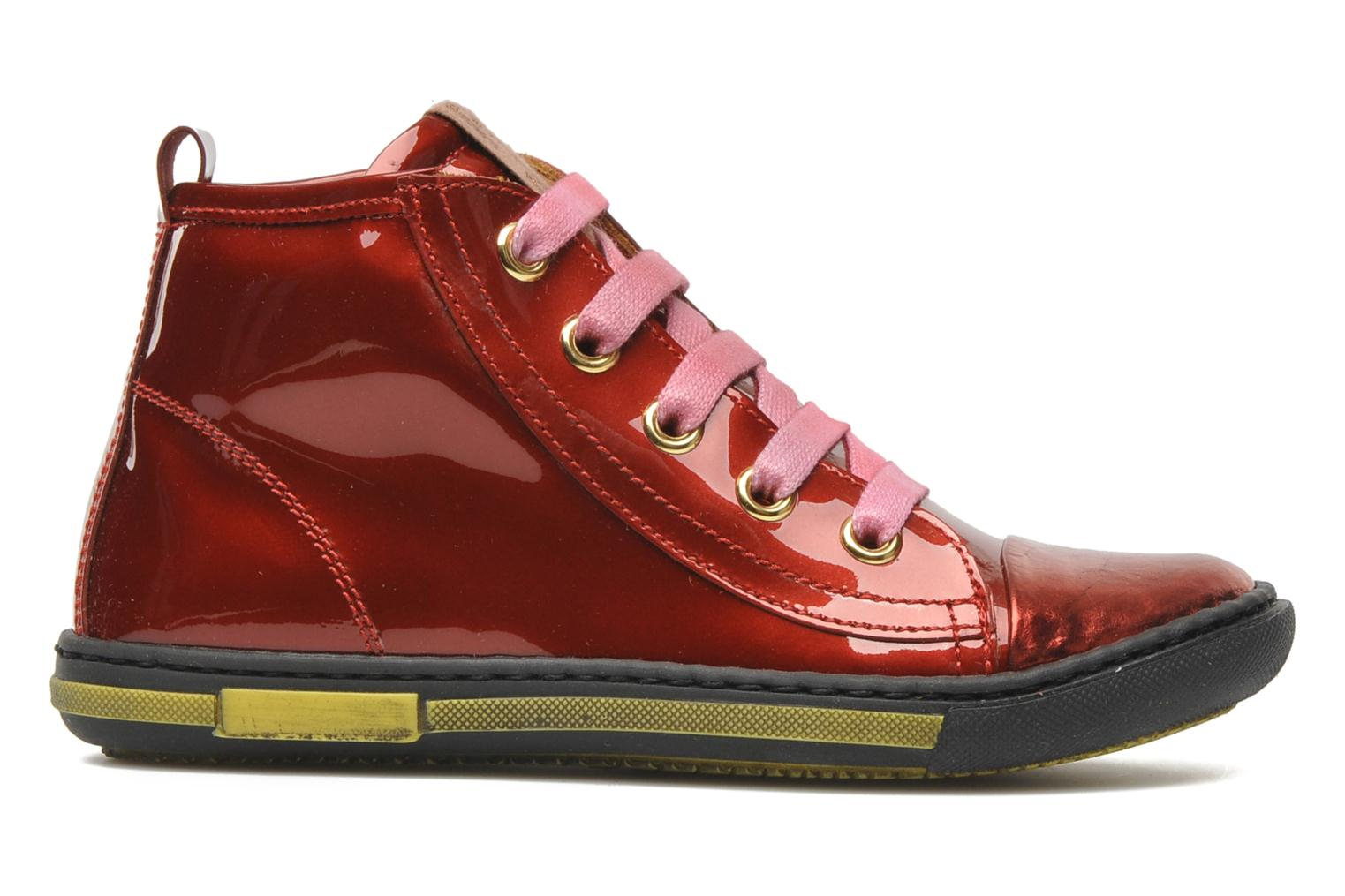 Sneakers Rondinella Nella 9671-4B Rood achterkant