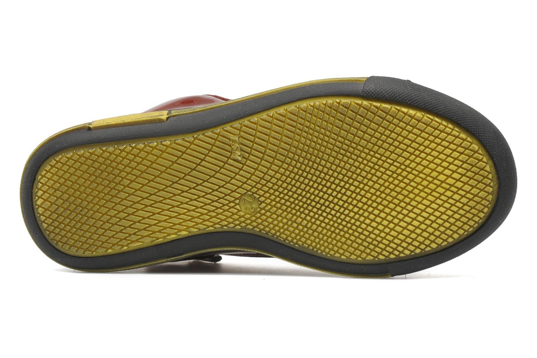 Sneakers Rondinella Nella 9671-4B Rood boven