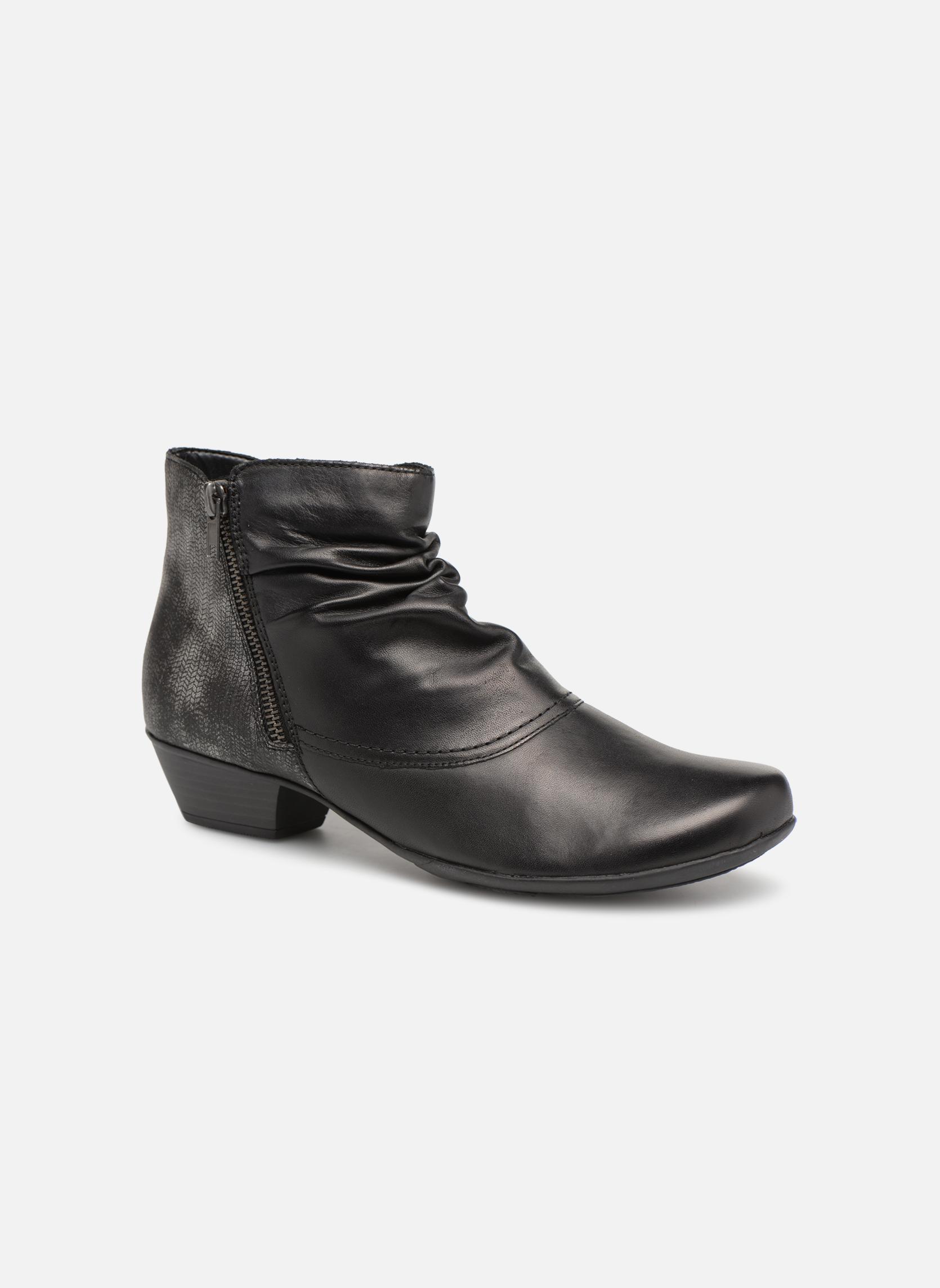 Zapatos de hombre y mujer de promoción por tiempo limitado Remonte Nono D7382 (Negro) - Botines  en Más cómodo