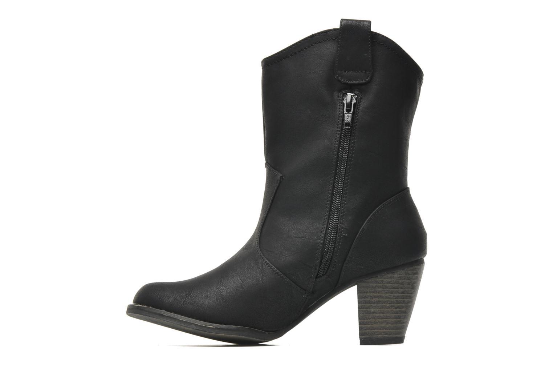 Stiefeletten & Boots Dockers Younia schwarz ansicht von vorne