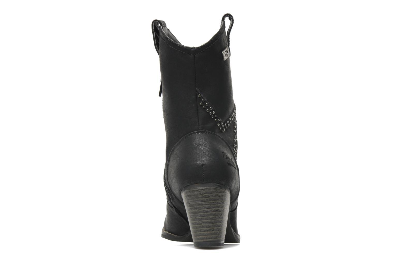 Stiefeletten & Boots Dockers Younia schwarz ansicht von rechts