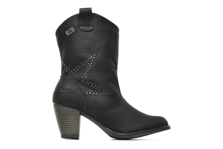 Stiefeletten & Boots Dockers Younia schwarz ansicht von hinten