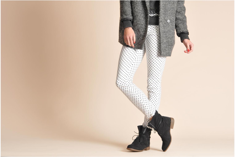 Bottines et boots I Love Shoes Thableau Noir vue bas / vue portée sac